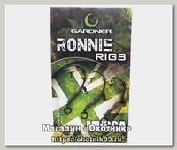 Крючки оснащенные Gardner Ronnie rigs №4