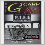 Крючок Gamakatsu A1 G-Carp Specialist X PTFE KP №6 уп.10шт