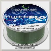 Леска Gardner Hydro-flo green 300м12lb 0,30мм