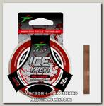Леска Intech FC Shock Khaki red-brown 30м 0.08мм 0,6кг