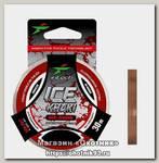 Леска Intech FC Shock Khaki red-brown 30м 0.126мм 1,4кг
