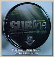 Леска Korda Subline ultra tough sinking mono green 1000м 0,35мм