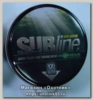 Леска Korda Subline ultra tough sinking mono green 1000м 0,40мм