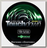 Леска Korda Touchdown green 1000м 15lb