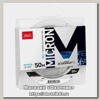 Леска Lucky John Micron зимняя 50м 0,12мм