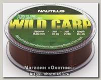 Леска Nautilus Wild carp 150м 0,40мм 11,4кг