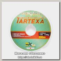 Леска Pontoon21 Gexar Tartexa 0.22мм 8.9lb 4кг светло-серая