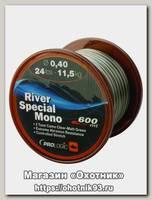 Леска Prologic River special mono 600м 24lbs 11,5кг 0,40мм сamo