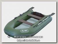Лодка Flinc FT260LA надувная оливковый