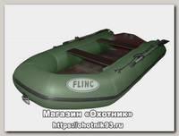 Лодка Flinc FT290L надувная зеленая