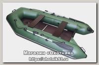 Лодка Мастер лодок Аква 2900 СК зеленая