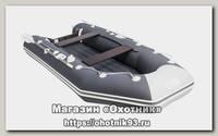 Лодка Мастер лодок Аква 3200 НДНД графит серая