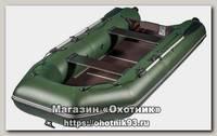Лодка Мастер лодок Аква 3200 СК зеленая