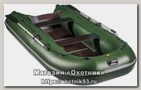 Лодка Мастер лодок Ривьера 3200 СК компакт черно-серая