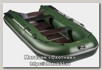 Лодка Мастер лодок Ривьера Компакт 3200 СК касатка черно-зеленая