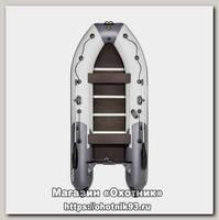 Лодка Мастер лодок Ривьера Компакт 3600 СК комби графит серая