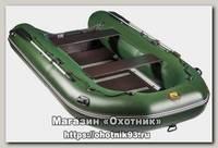 Лодка Мастер лодок Ривьера Максима 3400 СК зеленая