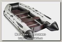 Лодка Мастер лодок Ривьера Максима 3800 СК комби черно-серая