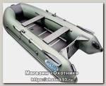 Лодка Мастер лодок Rush 3300 СК зеленый черный