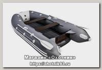 Лодка Мастер лодок Таймень 3200 НДНД графит светло-серый