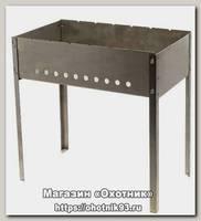 Мангал Метиз 300*250*300 сталь 0.4 мм в коробке