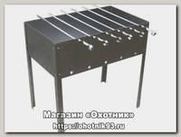 Мангал Метиз 500*300*500 6 шампуров