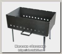 Мангал Метиз Дипломат №1 40*25*40 см сталь 1.5 мм
