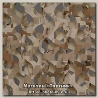 Маскировочная сеть Нитекс Пейзаж 3D 2,4х3м камыш