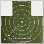 Мишень №4 для пристрелки пистолета грудная 1/500