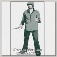 Мишень Бандит с ножом 840*1500 картон