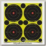 Мишень Birchwood casey Shoot N C осыпаемая 80мм+вост накл 1/12