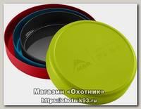 Миска MSR Deep dish large пластик red
