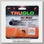 Мушка Truglo TG948CD Fat bead 2,6мм зеленая/красная ввинчиваемая метал