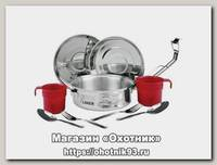 Набор Laken посуды стальной 2 персоны 0,420 кг