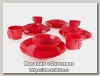 Набор посуды GSI Cascadian table set multi на 4 персоны 750 гр