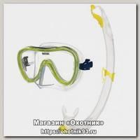 Набор Seac Sub Duo salina S/KL маска+трубка желтый