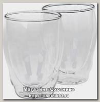 Набор стаканов Thermos Double glass tumbler двойное стекло 0,27л