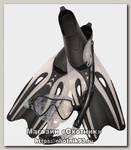 Набор Wave MSF-1390S65F69 маска трубка ласты silicone black p.L