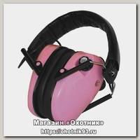 Наушники Caldwell E-Max Low Profile pink