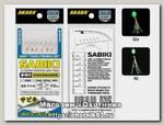 Оснастка морская Akara Flasher aurora bait rigs сабики 11 Ni №7 6шт