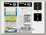 Оснастка морская Akara Flasher aurora bait rigs сабики 8 Ni №7 6шт