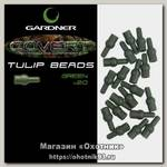 Отбойник Gardner Covert tulip beads green