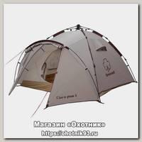 Палатка Greenell Клер плюс 3 автоматический каркас коричневый