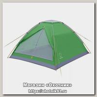 Палатка Greenell Moby 2 V2 зеленый/светло-серый