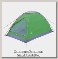 Палатка Greenell Moby 3 V2 зеленый/светло-серый
