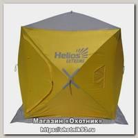 Палатка Helios куб 1.5х1.5 зимняя желтый/серый