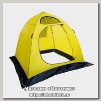 Палатка Holiday Easy Ice 3 210х210 см зимняя желтая