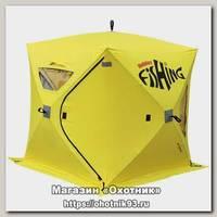 Палатка Holiday Fishing Hot Cube 3 175х175 см зимняя желтая