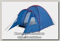 Палатка Trek Planet Bolzano 4 синий/красный