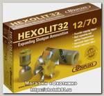 Патрон 12х70 DDupleks пуля Hexolit 32г